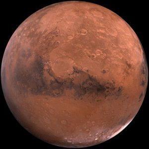 Planeet Mars, de mannelijke energie van kracht en moed