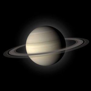 Planeet Saturnus, de hulp voor wie angsten en problemen wil overwinnen