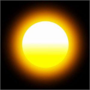 Zon Helios, de bron van warmte en vitaliteit